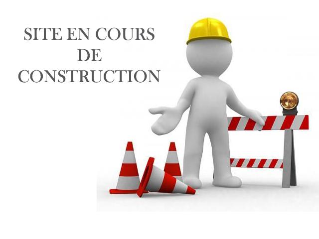 Site en cours de construction